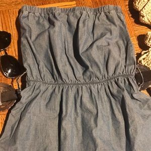 Blue Asphalt Dresses - Blue Asphalt strapless dress